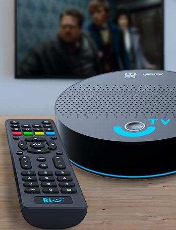 blue tv receptor e controle