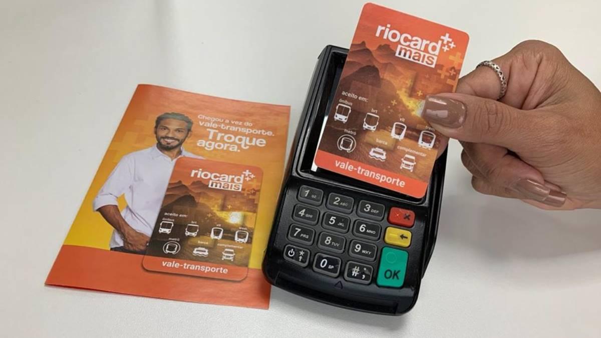 riocard mais recarga com cartao de credito
